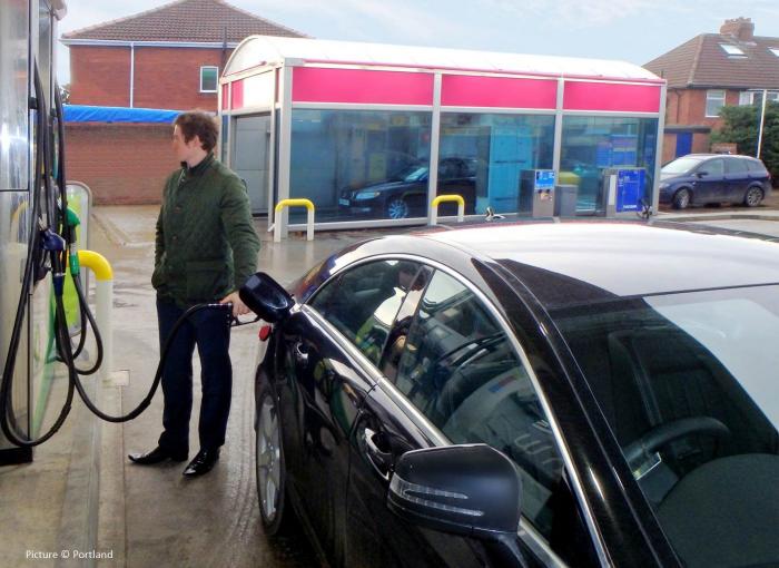 Petrol in a diesel car