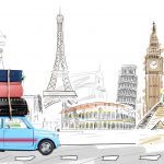 I'm driving abroad this summer. What paperwork must I take with me?