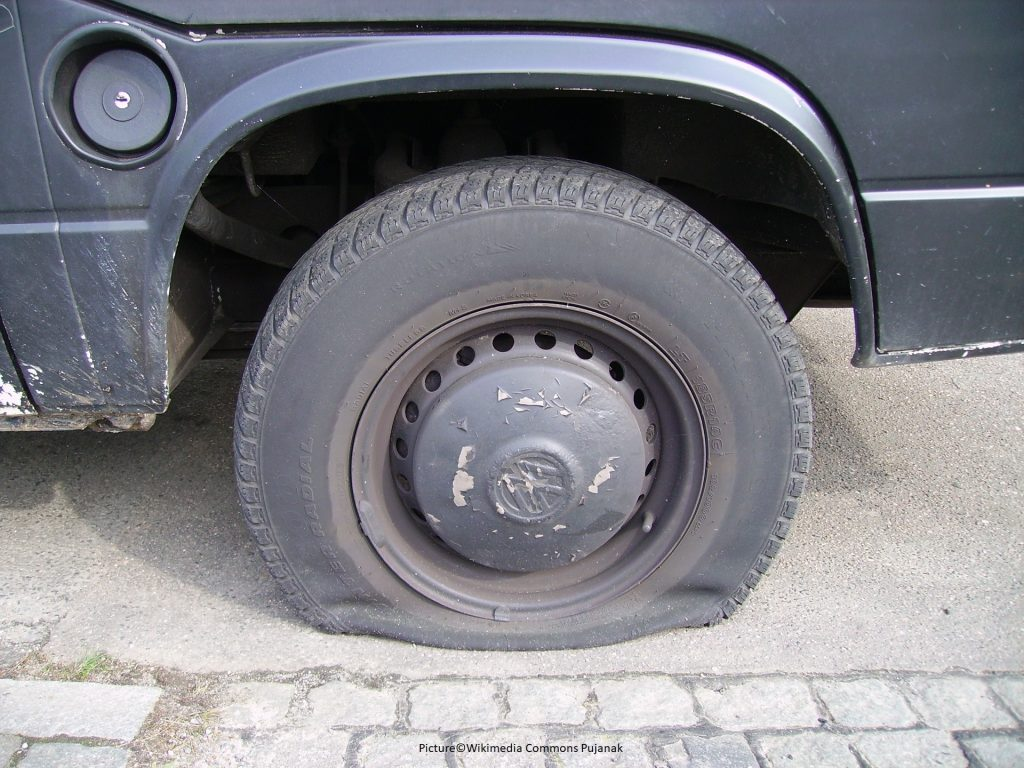 car wheel change