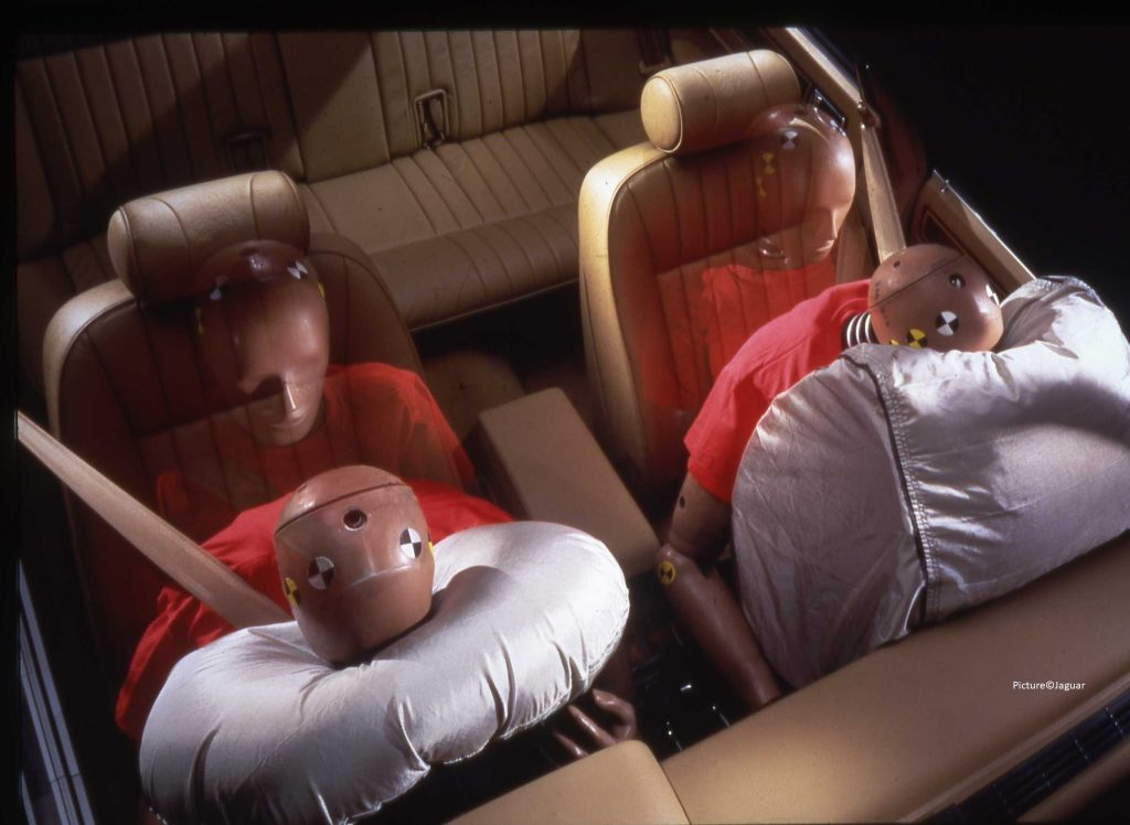 airbags in a car