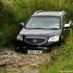 Is there anything I can do after driving through flood water?
