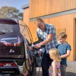 How can I have a home electric car charging point installed?