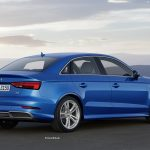 I'm looking for a small four-door car. What is the Audi A3 saloon like?