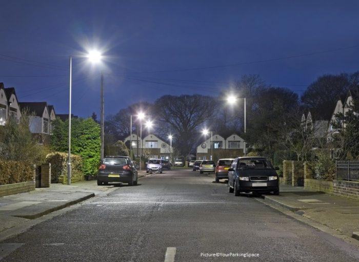parking across a driveway