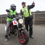 Can I take my 125cc bike on a motorway if I have a CBT and full car licence?